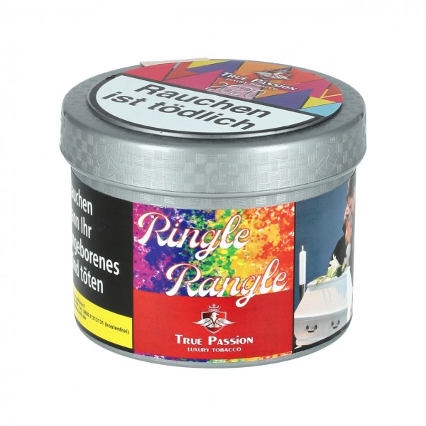 True Passion erfrischende Grapefruit Limette Maracuja (Ringle Rangle) Shisha Tabak, 200g