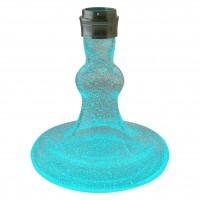 Smokah Shisha Devil Night Blue Aluminium Silver, 49 cm