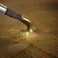 Paint Metallic Lebensmittelfarbe Light Gold, 25g