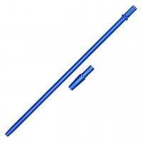 """Mundstück """"Alu-Liner"""" Blau, mit Adapter, 40 cm"""
